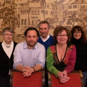 Daniel Behmenburg, Heike Lohmann, Susanne Gilbert, Martin Kryl, Danielle Schäfer und Jan Robert Belouschek